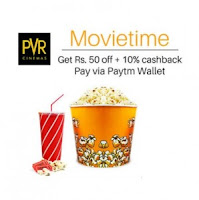PVR Cinemas worth Rs.100 at Rs.19 with Paytm Wallet : Buytoearn