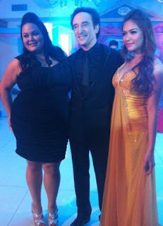 David Pomeranz with Bangs Garcia and Cai Cortez