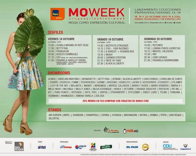 Grilla moweek, verano 13-14