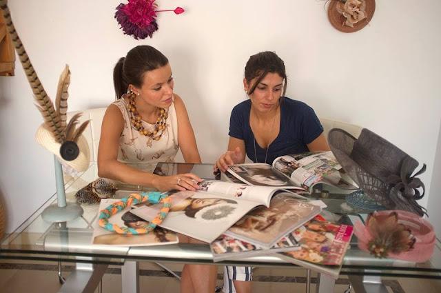 Marta y María, creadoras de la Boutique de Luca