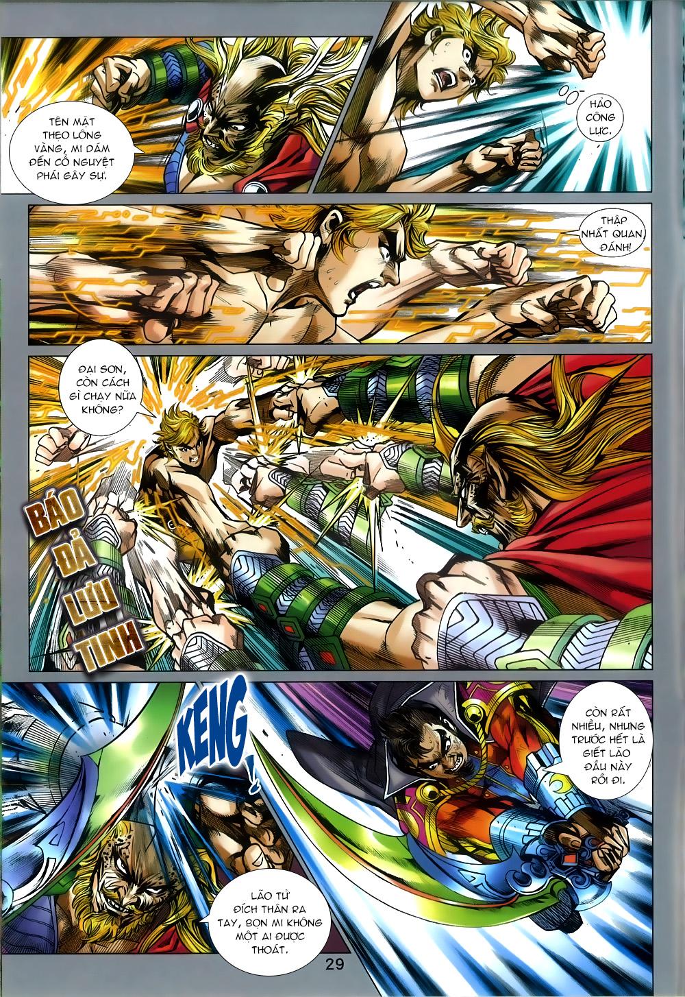 Tân Tác Long Hổ Môn chap 812 Trang 29 - Mangak.info