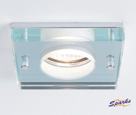 Latina 5506 Glass Square Recessed Ceiling Light