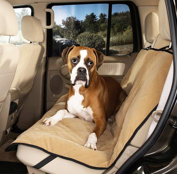guardian gear quilted microfiber dog car seat covers