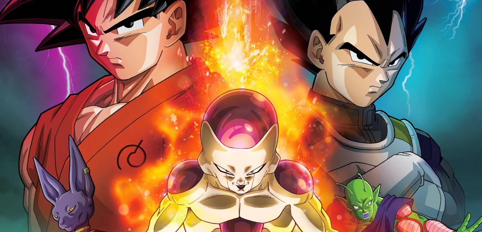 Divulgado pôster nacional e data de estreia de Dragon Ball Z – O Renascimento de Freeza