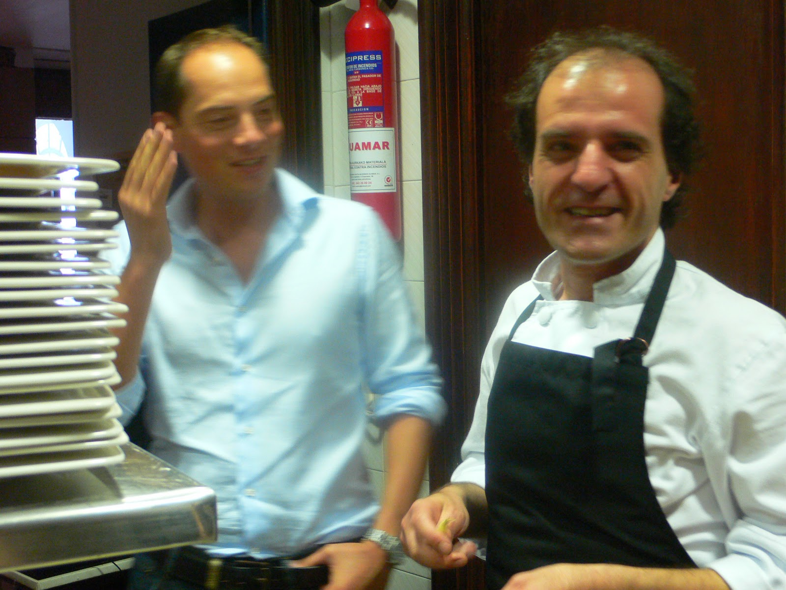 A toast to food: Loved up in a Basque kitchen