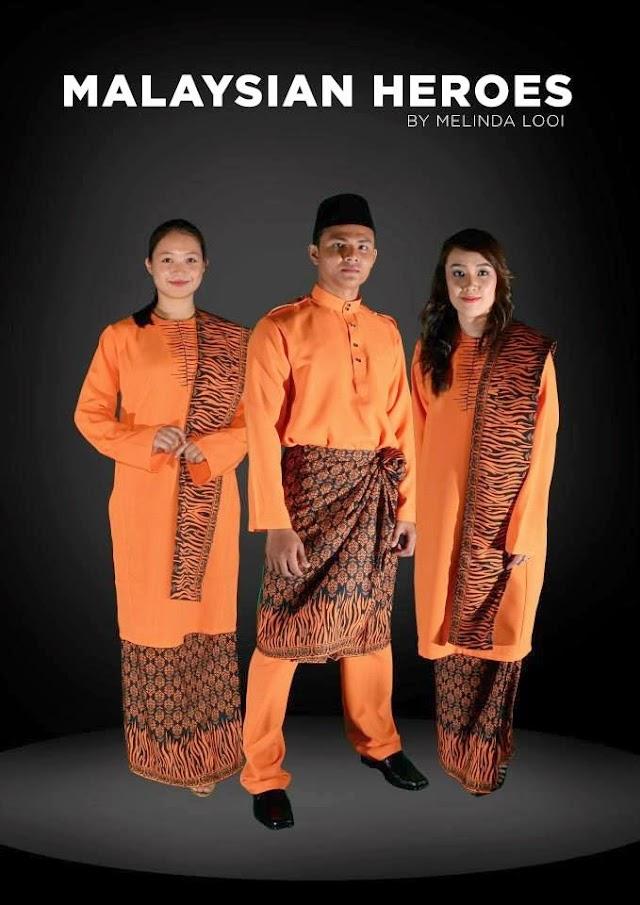 "Design Baju ""Malaysian Heroes"" Buruk?! @KhairyKJ @MSN @KBSMalaysia"