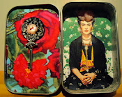 Altoid Box Assemblage by Jacqueline Nicolini