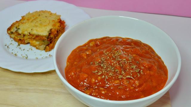 receta mousakka moussaka musaka lasagna lasaña boloñesa bolognesa
