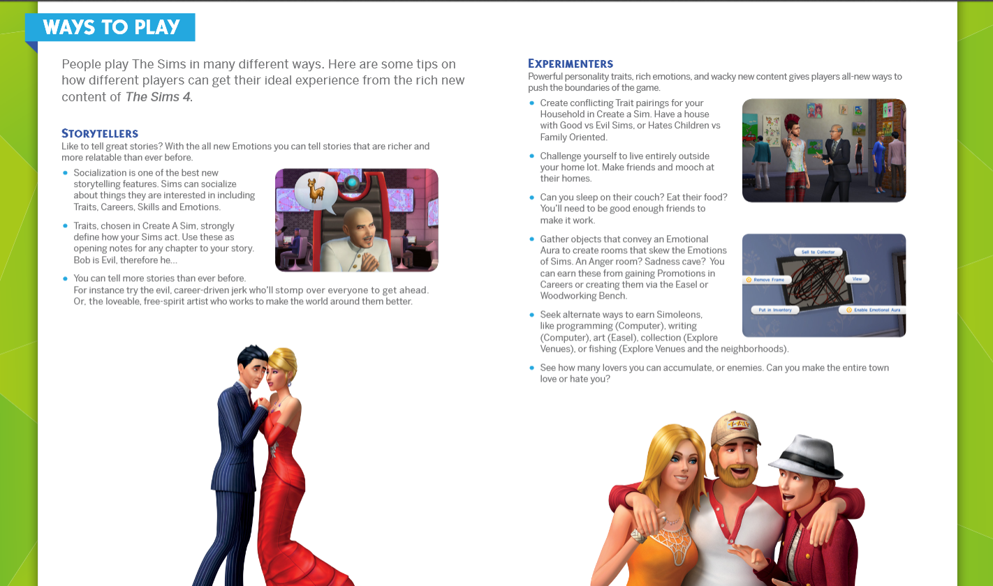 Here Are Screens Of The Mostrmative Parts Of The Guide Read Up  And Get Ready To Sim!