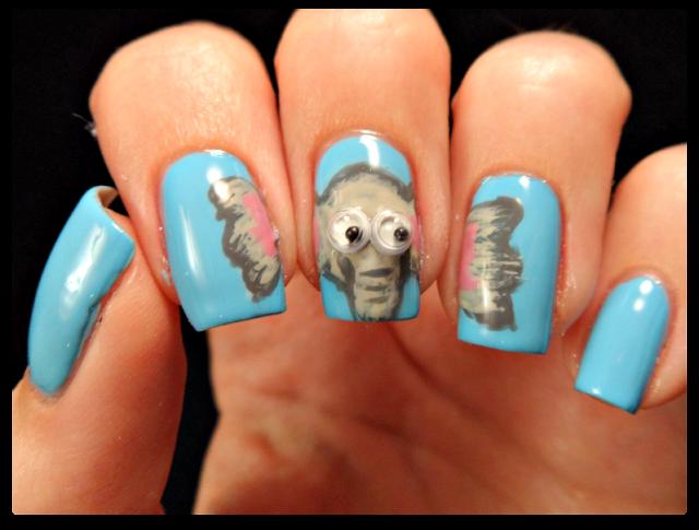 elephant-nail-art