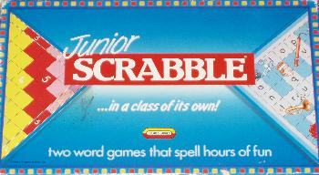 Junior Scrabble box.