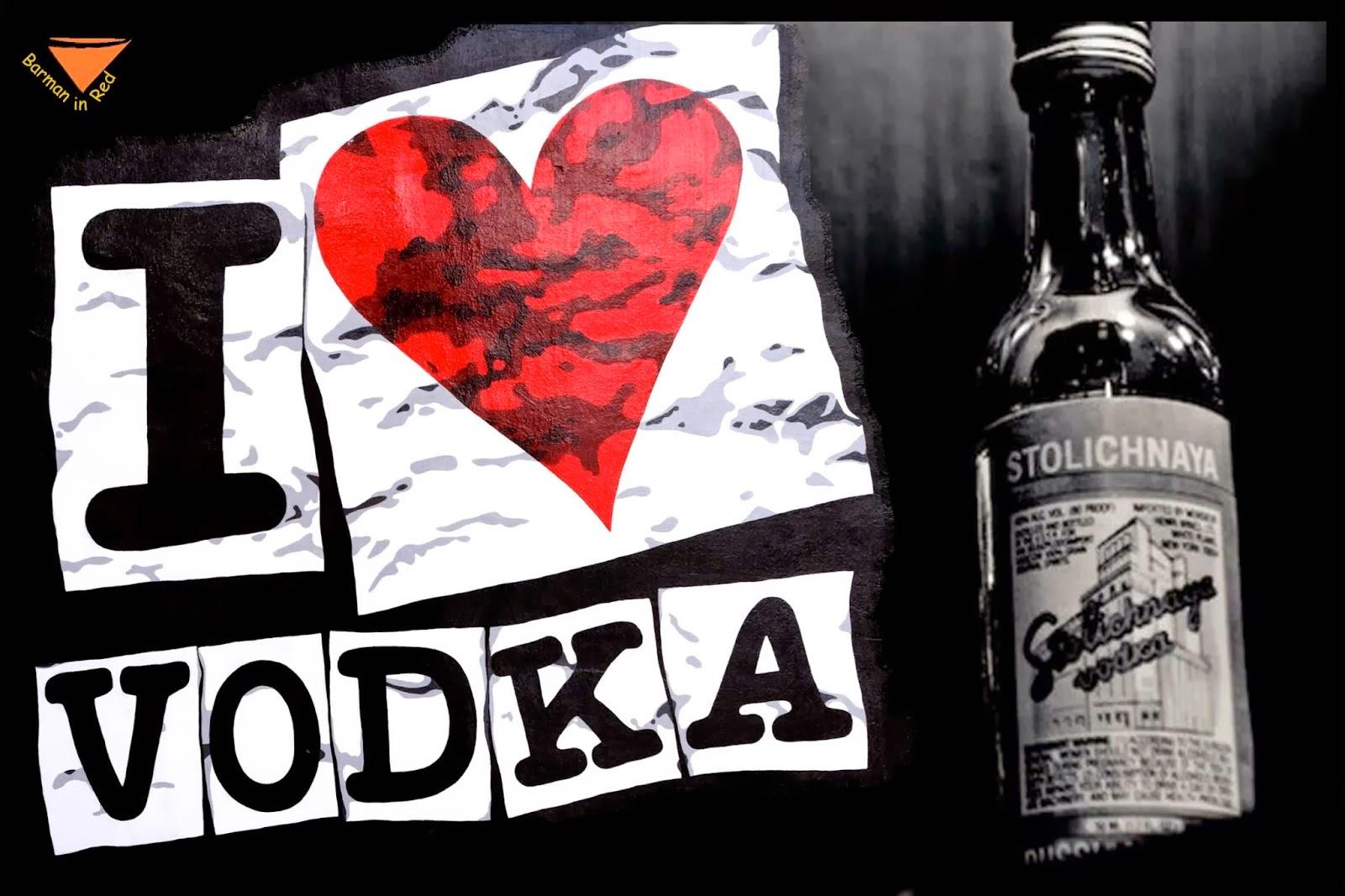 vodka y consumo