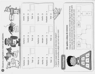 TABUADA-Atividades de Matemática para o 3º  Ano do Ensino Fundamental-PARTE 2, atividades para imprimir, ensino fundamental, matemática,desafios matemáticos.
