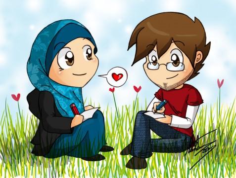 Foto Animasi Islam Lucu