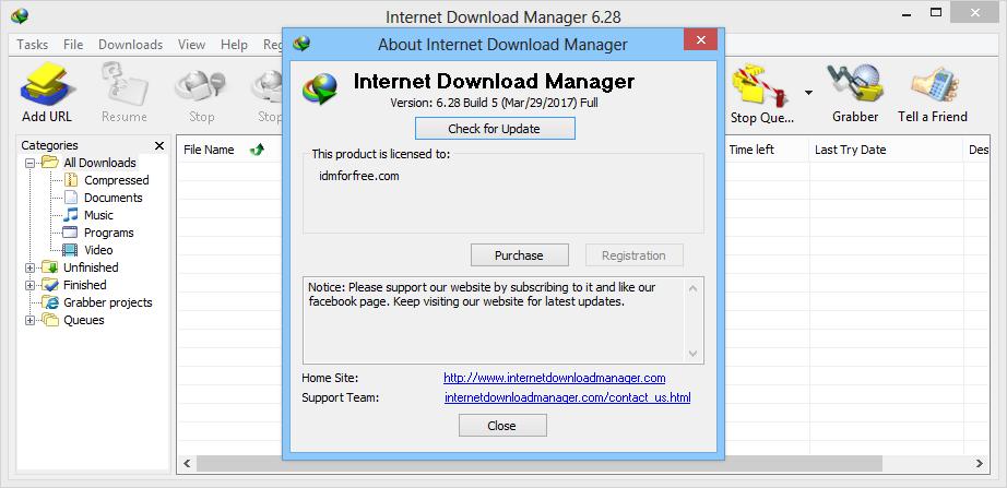 Free Download IDM 629 Build 2 Latest Final Full Crack