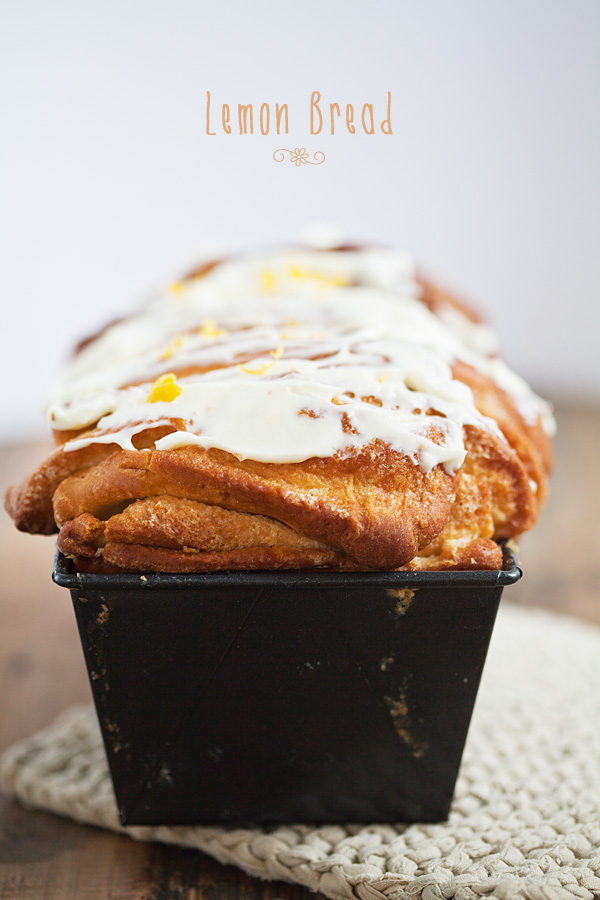 Lemon Bread delicious easter treat breakfast brunch