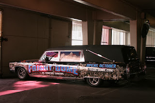 Haunted Hearst at Fright Dome Las Vegas.