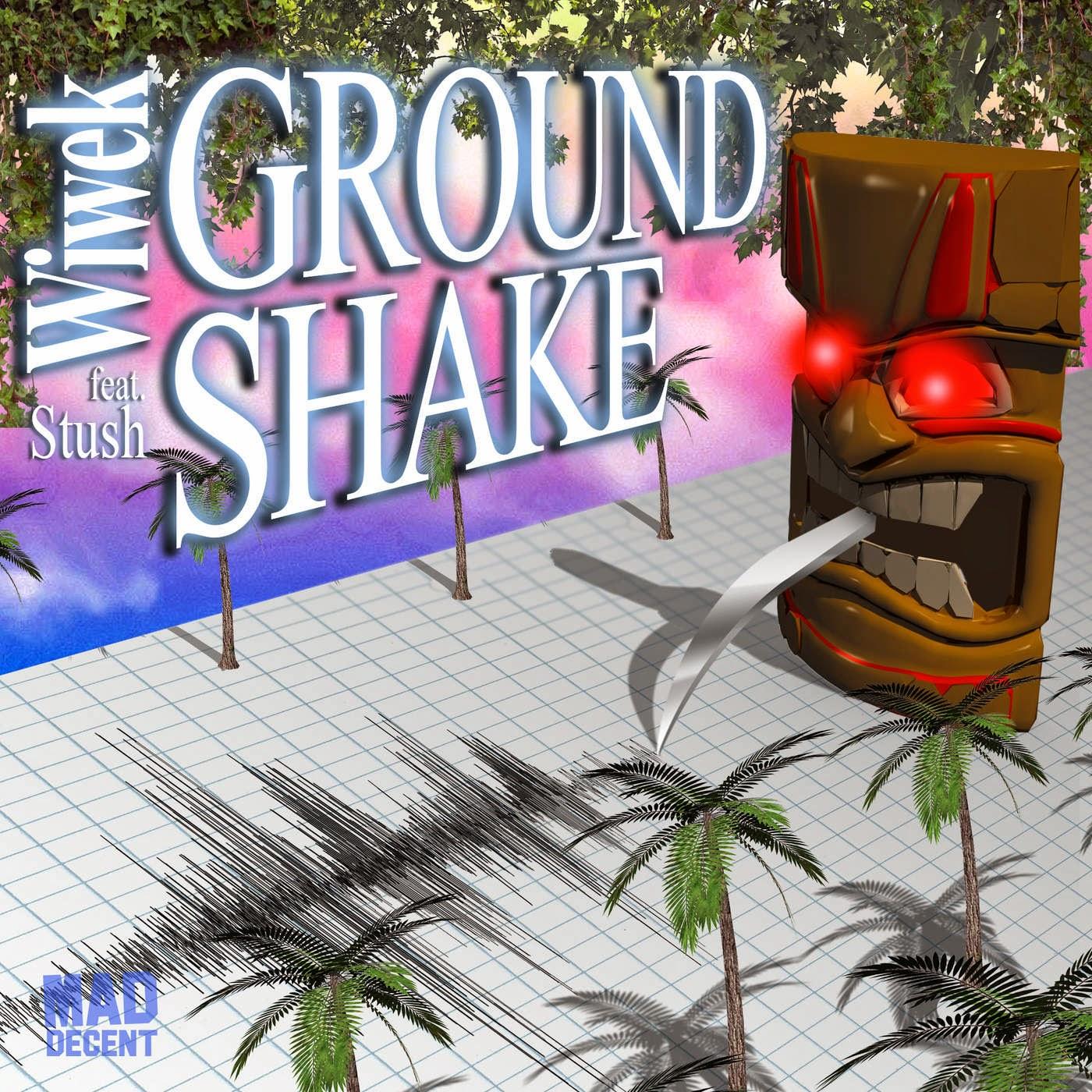 Wiwek - Ground Shake (feat. Stush) - Single  Cover
