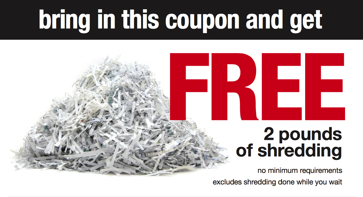 Office depot rewards coupons - Free Shredding At Office Depot And Officemax For Tax Season