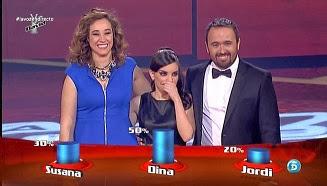 Dina Arriaza a las semifinales