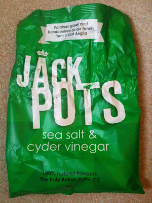 jack pots sea salt cyder vinegar crisps