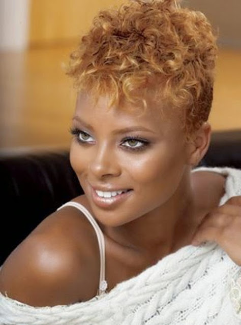 Natural Short Hairstyles For Black Women In Curly Texture