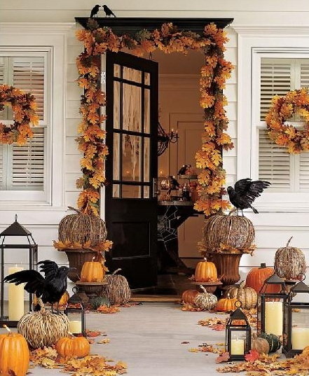 Autumn Porch Décor Ideas | Natural Interior Design