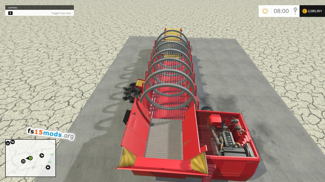 Potato washer fs15