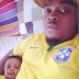 Olamide Shares Pictures with His 3 months old son