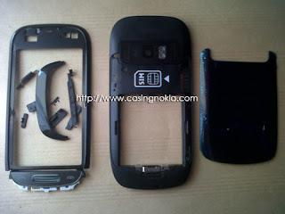 casing nokia C7-00 hitam