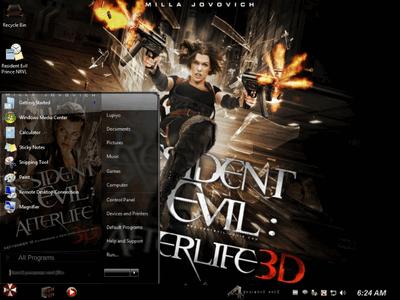 Download Game PC Gratis: Windows 7 Ultimate SP1 (x64) Resident Evil