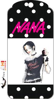 Para marcapaginas de Nana.