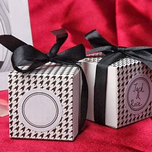 http://www.specialgiftboxes.com/product/black-white-houndstooth-favor-box-set-of-12/