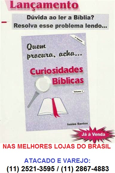 CURIOSIDADES BÍBLICAS - Lançamento