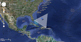 Bermuda Triangle Map Live Satellite Images In Google Earth - Google earth satellite map