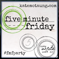 http://katemotaung.com/2015/06/18/five-minute-friday-fear-plus-a-new-video-and-a-giveaway/