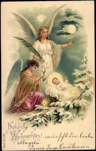 Favorito Il mondo di Sissi: Cartoline di Natale: una tradizione ottocentesca! WZ77