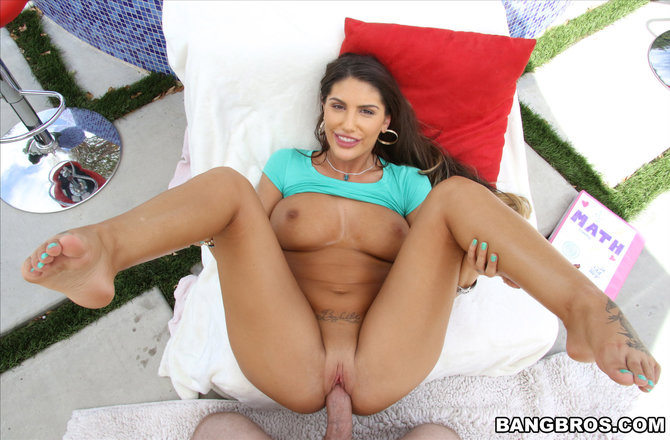Bang POV | Last Creampie for August Ames, POV Style!