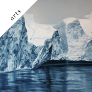Pastel drawings of Greenland by Zaria Forman