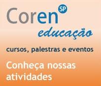 Veja a agenda do COREN-SP Educação