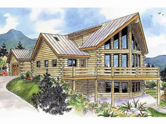 House plans for mountain views ayanahouse for Mountain house plans with a view