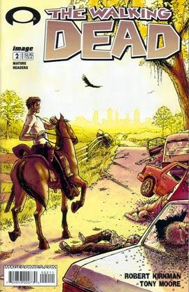 The Walking Dead #2 comic