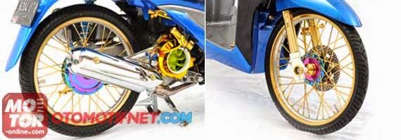 Kumpulan Foto Modifikasi Motor Terbaru 2014