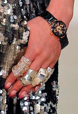 anéis multiple rings Vivienne Westwood