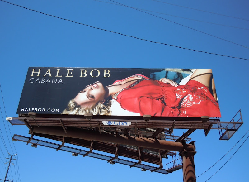 Hale Bob Cabana red billboard