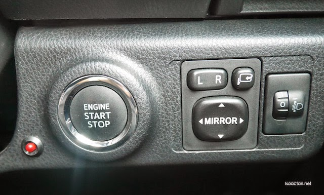 Keyless entry and start stop engine