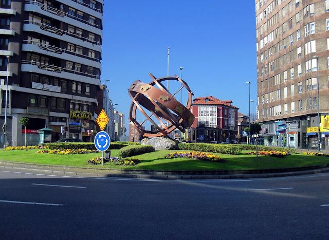 Glorieta de Cuatro Caminos en Santander