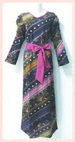 model+baju+gamis+batik+(1) Contoh Model Baju Gamis Modern Terbaru 2014 Baru