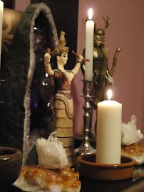 Altar dedicado a la Deidad