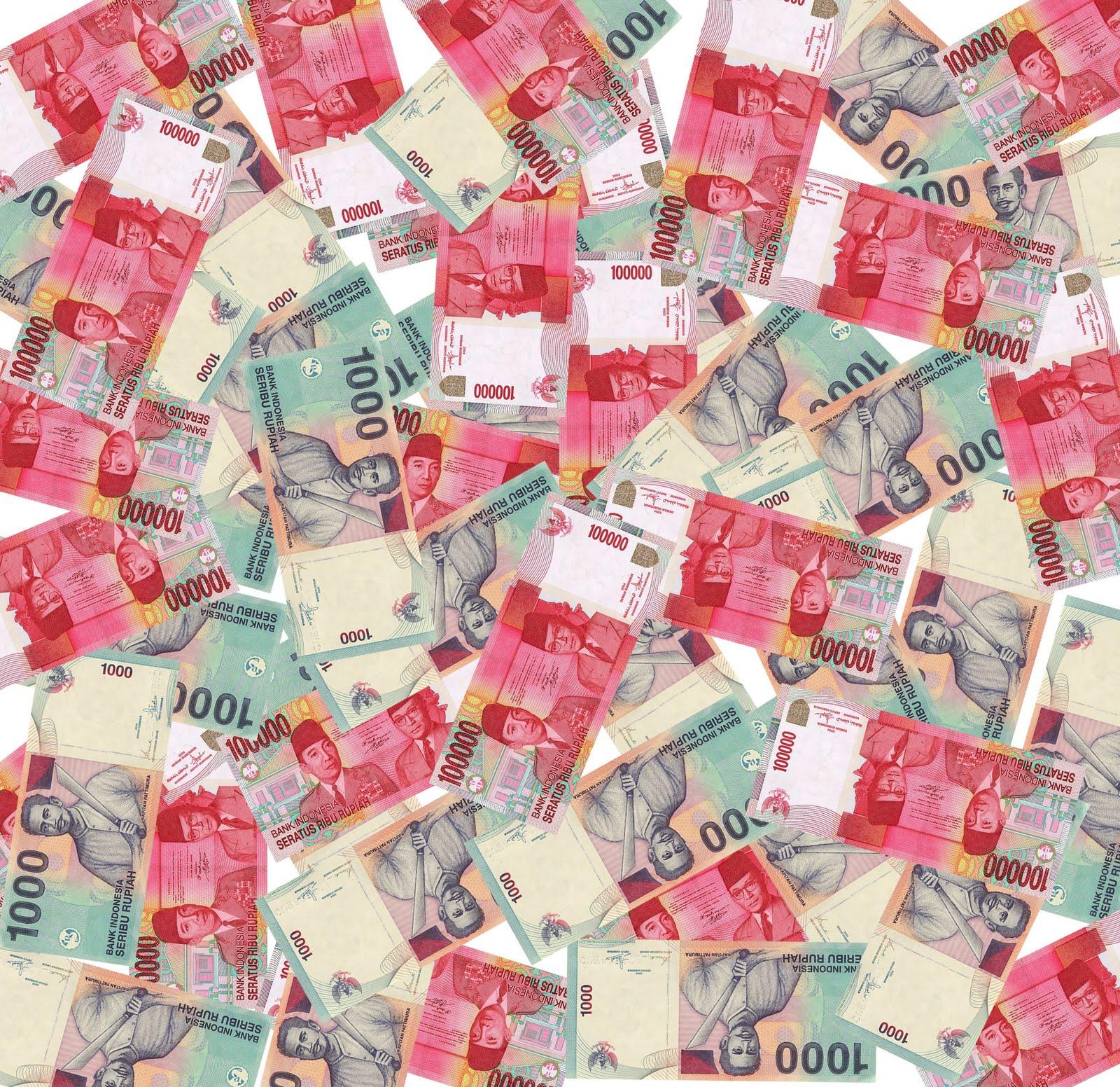 Kali ini aku akan memberi judul uang seribu lebih suci daripada uang